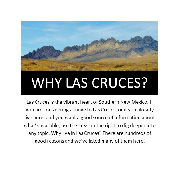 Why Las Cruces Home page